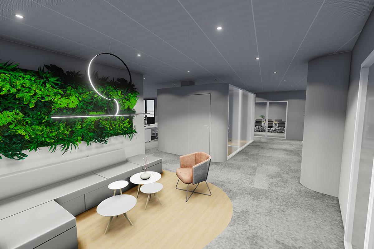 Design Plus passe la frontière avec un projet Design & Build au Luxembourg
